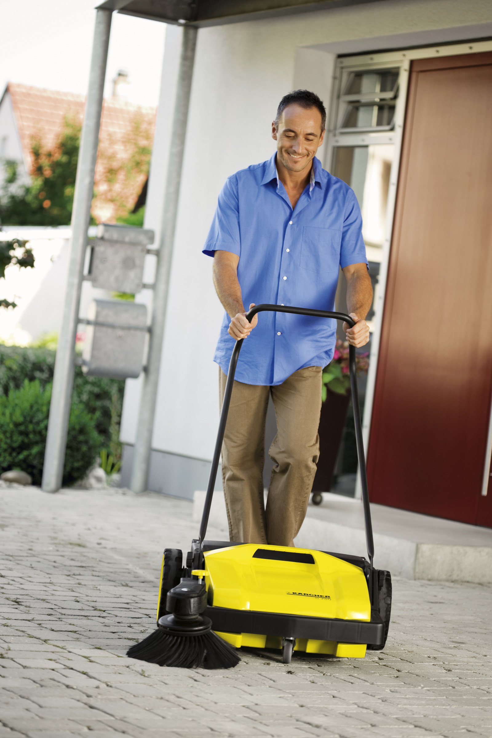 Karcher manual push sweeper black and decker steam cleaner